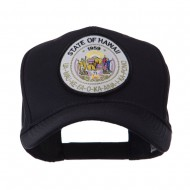 US Western State Seal Embroidered Patch Cap - Hawaii
