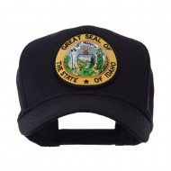 US Western State Seal Embroidered Patch Cap - Idaho