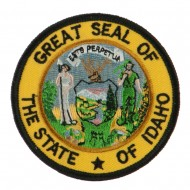 Western State Seal Embroidered Patch - Idaho