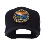 US Western State Seal Embroidered Patch Cap - Montana