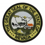 Western State Seal Embroidered Patch - Nevada