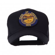 US Western State Seal Embroidered Patch Cap - Oregon