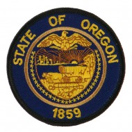 Western State Seal Embroidered Patch - Oregon