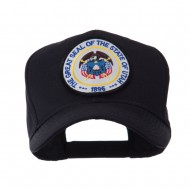 US Western State Seal Embroidered Patch Cap - Utah
