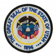Western State Seal Embroidered Patch - Utah