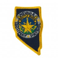 Western State Police Embroidered Patches - NV Hwy