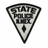 Western State Police Embroidered Patches - NM State