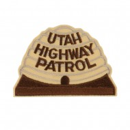 Western State Police Embroidered Patches - UT Hwy