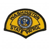 Western State Police Embroidered Patches - WA State