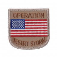 War and Operation Embroidered Military Patch - Desert Storm 2