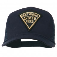 West Virginia State Police Patched Mesh Cap - Navy