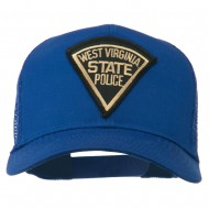 West Virginia State Police Patched Mesh Cap - Royal