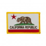 Western State Embroidered Patches - California