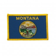 Western State Embroidered Patches - Montana