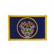 Western State Embroidered Patches - Utah