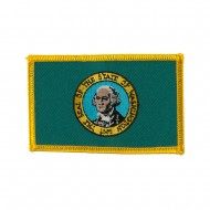 Western State Embroidered Patches - Washington