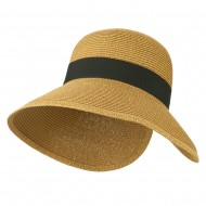 Women's UPF 50+ V Back Sun Hat - Toast