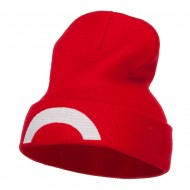 Ash Ketchum XY Series Embroidered Long Beanie - Red