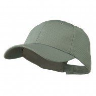 Youth Athletic Jersey Mesh Cap - Grey