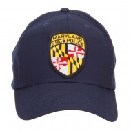 Maryland State Police Patched Cap - Navy
