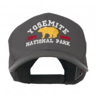 Yosemite National Park Embroidered Cap - Charcoal Grey