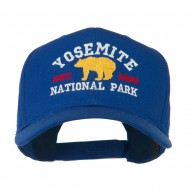 Yosemite National Park Embroidered Cap - Royal