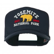 Yosemite National Park Embroidered Cap - Navy