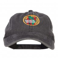 Veteran God Duty Country Embroidered Cap - Black