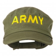Army Embroidered Enzyme Army Cap - Olive