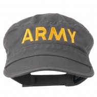 Army Embroidered Enzyme Army Cap - Grey