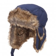 Youth Trapper Hat - Blue