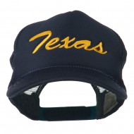 Youth Mid States Texas Embroidered Foam Mesh Cap - Navy