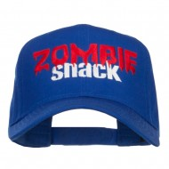 Zombie Snack Embroidered Twill Cap - Royal