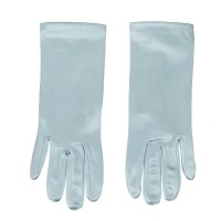 Glove - Light Blue Satin 2BL Glove