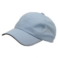 Ball Cap - Blue 6 Panel Athletic b, Mesh Cap