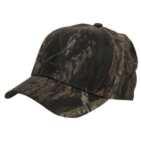 Ball Cap - Oak Break Tree Camouflaged Fitted Cap
