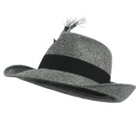 Costume - Silver Big Daddy Martini Hat