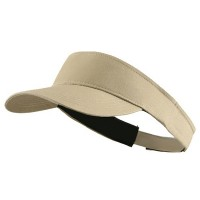 Visor - Khaki Brushed Cotton Sunvisor