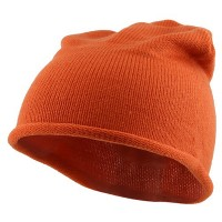 Beanie - Orange Children Knitting Hat