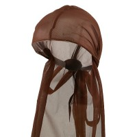 Wrap - Brown UnisexDoo Rag