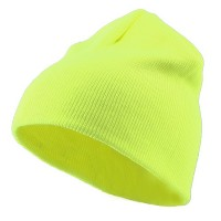 Beanie - Yellow Classic Fluorescent Safety Beanie