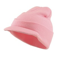 Beanie Visored - Beanie With Short Visor | Free Shipping | e4Hats.com