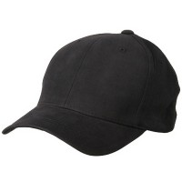 Ball Cap - Charcoal Brushed Cotton Cap