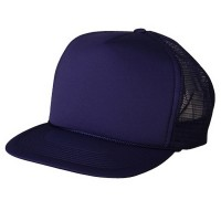 Ball Cap - Purple Foam Mesh Trucker Cap