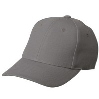 Ball Cap - Grey Pro Style Fitted Cap | Coupon Free | e4Hats.com