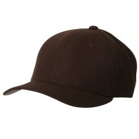 Ball Cap - Brown Pro Style Fitted Cap