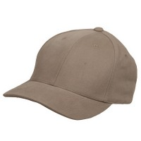 Ball Cap - Khaki Ladies Brushed Cotton Cap
