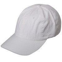 Ball Cap - White Low Profile Dyed Washed Caps