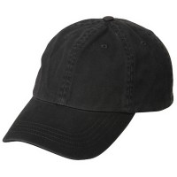 Ball Cap - Charcoal Low Profile Dyed Washed Caps