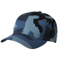 Ball Cap - Sky Low Profile Camouflaged Cap